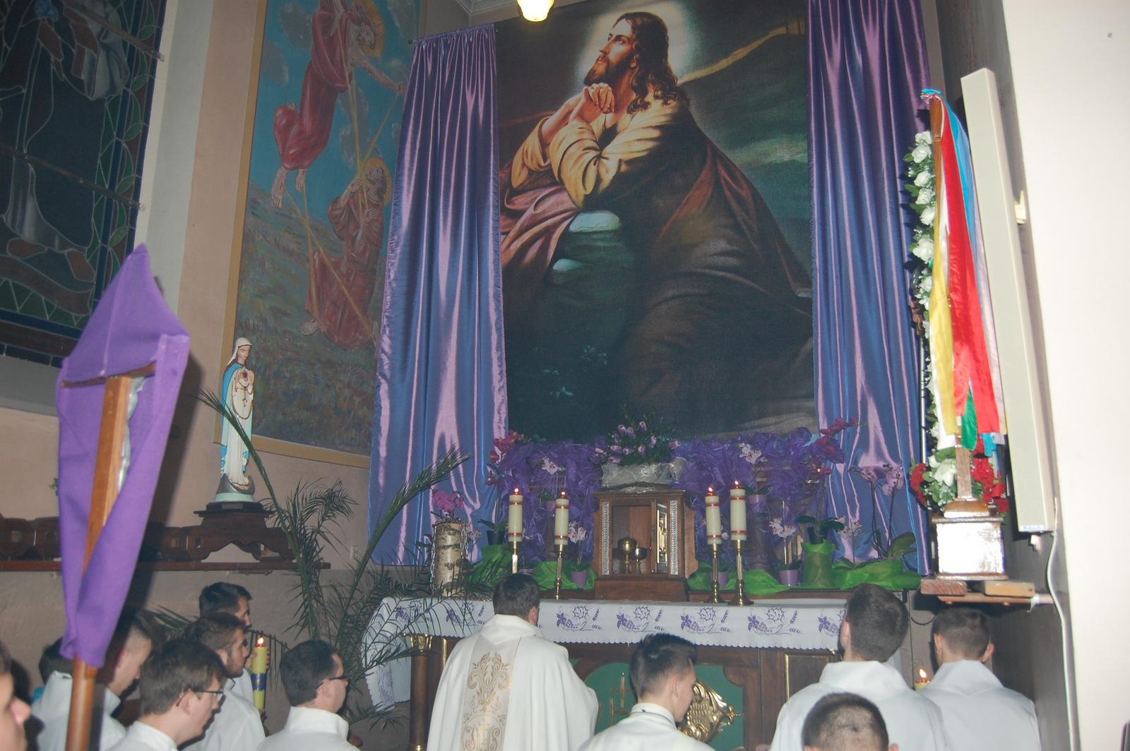 Modlitwa rodzinna naWielką Środę